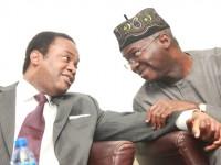 GOV. FASHOLA AND DONALD DUKE AT NIGERIA INFRASTRUCUTRE BUILDING CONFERENCE 2014