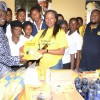 Govt college receives materials from MTN