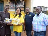 Y'ello train visits govt primary school in Lagos