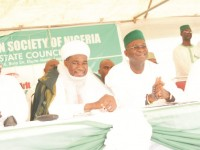 Photo News: Gov. Fashola at ramadan lecture, special prayer organised by Ansar-ud-deen society of Nigeria, Lagos state council