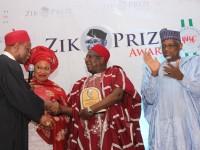 NEWS PHOTOS: Ambassador (Dr) Bamanga Tukur Receives Zik's Award