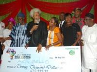Wole Soyinka Prize: Akin Bello wins grand prize