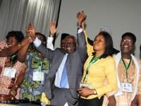 Confab: Delegates adopt final report