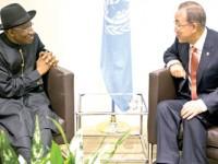 Jonathan at UN, tasks world leaders on terrorism