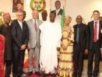 GOV. FASHOLA RECEIVES UNILEVER'S GLOBAL CHIEF EXECUTIVE OFFICER, PAUL POLMAN AND HIS ENTOURAGE