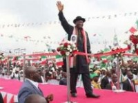 Jonathan Declares, Promises to Tackle Insurgency, Eradicate Poverty