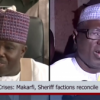 PDP crisis: Makarfi, Sheriff Hold reconciliatory meeting