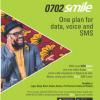 Smile launches 0702smile 4GLTE SIM proposition  …unveils brand ambassador