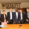 FASHOLA RECEIVES MINISTER FOR FOREIGN TRADE AND DEVELOPMENT, FINNISH BUSINESS DELEGATION