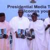Presentation Of President Muhammadu Buhari's Book: Nigeria On Firmer Ground, At The Presidential Villa, Abuja, On Friday