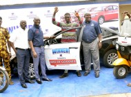 Dangote Promo: 64-year-old Bricklayer, 20-year-old Artisan Win Star prize saloon cars in Ijebu-ode, Ikorodu …As 10 others collect tricycle, motorcycle, fridge, TV prizes