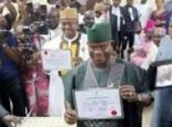 Kogi INEC presents Certificates of Return to Bello, Onoja