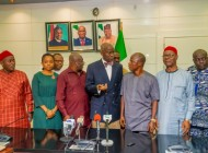 FASHOLA  RECEIVES THE NATIONAL EXECUTIVE & TRUSTEES OF PUBLIC TRANSPORT OWNERS OF NIGERIA ASSOCIATION (PTONA) IN ABUJA