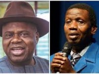 Governor Diri Storms RCCG headquarters, Gives Testimony