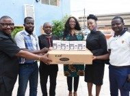 Covid 19: MultiChoice Nigeria visits BJAN, donates Equipment to curb spread of Pandemic