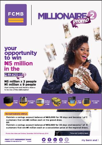 FCMB Millionaire Promo
