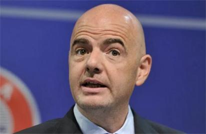 FIFA President, infantino