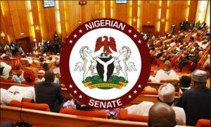 senate with inscription