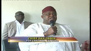 Dan Orbih, chairman pdp edo state