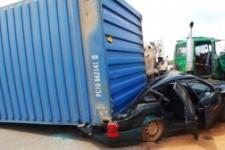 Accident on Ikorodu-Sagamu Expressway