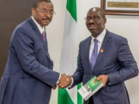 GOV. OBASEKI RECEIVES DELEGATES FROM THE NATIONAL INSTITUTE OF WELDERS