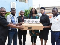 Covid 19: MultiChoice Nigeria visits BJAN, donates Equipment to curb spread of Pandemic
