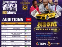 N25m worth of prizes, Car gift up for grabs in The Basement Search Reality TV Show